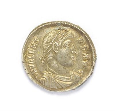Lot 4015 - Ancient Rome, Valens (364 - 378 A.D.), Silver Heavy Siliqua. 3.28g, 19.8mm, 5h. Constantinople...
