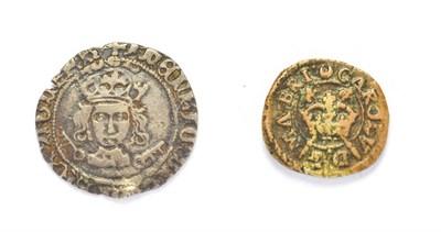 Lot 4019 - Henry VII (1485 - 1509 A.D.) York Mint Groat. 1.55g, 19.3mm, 3h. Mintmark: martlet Obv: Crowned...