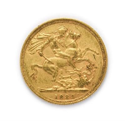 Lot 4032 - Victoria (1837 - 1901), 1888 Sydney Mint Sovereign. Obv: Crowned jubilee portrait left, J.E.B....