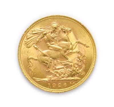 Lot 4052 - George V (1910 - 1936), 1926 South Africa Mint Sovereign. Obv: Bare head of George V left, B.M....