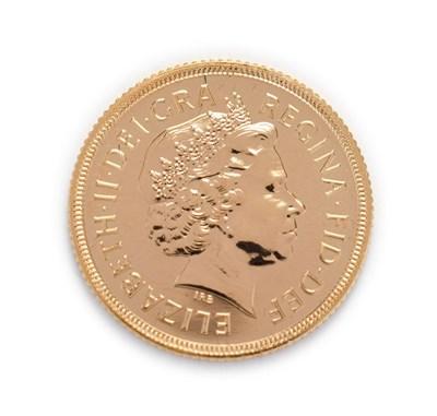 Lot 4063 - Elizabeth II (1952 -), 2002 Brilliant Uncirculated Golden Jubilee Sovereign. Obv: Fourth,...