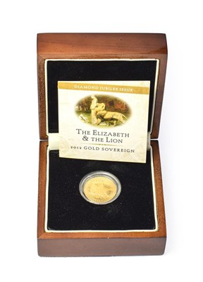 Lot 4088 - Tristan Da Cunha, 2012 Sovereign. 7.99g of 22ct (.916) gold. Obv: Crowned head of Elizabeth II...