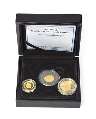 Lot 4089 - Tristan Da Cunha, 2012 Half-Sovereign. 3.99g of 22ct (.916) gold. Obv: Crowned head of Elizabeth II
