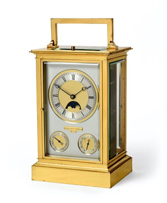 Lot 279 - A Rare and Impressive Limited Edition Giant Chronometer Carriage Clock, signed Sinclair...
