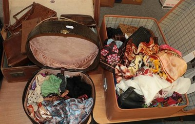 Lot 1003 - Assorted mainly ladies early to mid 20th century costume accessories including shoes, hats, leather