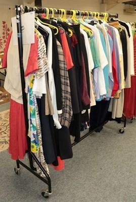 Lot 1064 - Assorted modern ladies clothing including Laura Ashley, Ralph Lauren, Tru, Thomas Pink, Fenn Wright