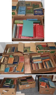 Lot 1085C - Literature. A large quantity of 19th and early-20th century literature, mainly in original...