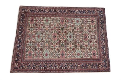 Lot 341 - Sultanabad Carpet West Iran, circa 1930 The ivory field with columns of large stylised...