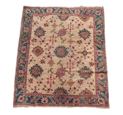 Lot 362 - Ushak Carpet Central/West Anatolia, 1st quarter 20th century The cream field with an allover design