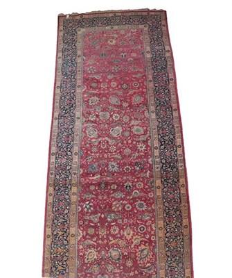 Lot 377 - ''Khelleh'' of 17th Century Design Possibly Tabriz, 2nd quarter 20th century The raspberry...