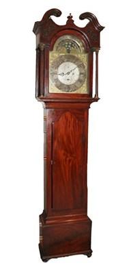 Lot 395 - A Mahogany Eight Day Longcase Clock, signed Coleman & Co, Falkirk, circa 1780, swan neck...