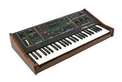 Lot 3045 - MOOG Opus 3 Model 339BX no.2708X Sythesizer, labelled 'Moog Music Inc 2500 Walden Ave, Buffalo...