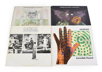 Lot 3050 - Genesis Vinyl LPs Collection Volume One (Trepass & Nursery Cryme), Collection Volume Two (Foxtrot &