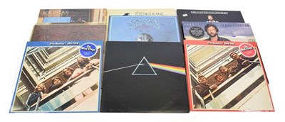 Lot 3053 - Various Vinyl LPs including Bob Dylan - Street Legal and Greatest Hits; The Beatles - Love Stories