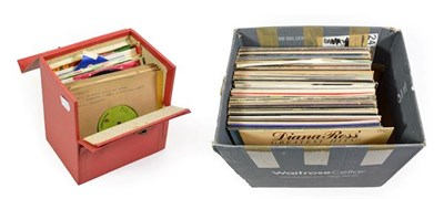 Lot 3060 - Various Vinyl LPs including EPL - Tarkus; T Rex - Electric Warrior; Deep Purple - Fireball;...