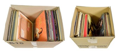 Lot 3068 - Various Vinyl LPs including This Is The Moody Blues; Chris de Burgh - Into The Light; Genesis -...