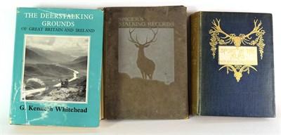 Lot 35 - Deer Interest: Baillie-Grohman (W.A.) Sport in the Alps, 1896 1st ed, plts, orig. cl. gt; Whitehead