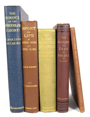 Lot 76 - Deer Interest: ''The Romance of the Newfoundland Caribou'', Dugmore. Radclyffe. A, hardback,...