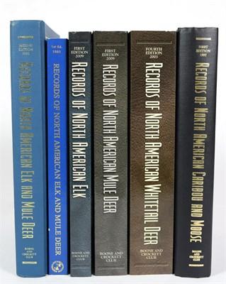 Lot 93 - Deer Interest: Boone & Crockett Club, ''Records of North American Elk and Mule Deer'' 1st...