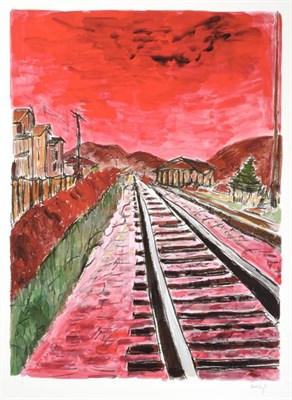 Lot 2032 - Bob Dylan (b.1941) American ''The Drawn Blank Series'', (2014) Including ''Train Tracks'',...