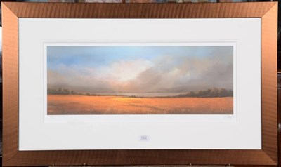 Lot 1004 - Philip Gray (Contempory) Eternity I Signed giclee print numbered 46/195, 28cm by 66cm