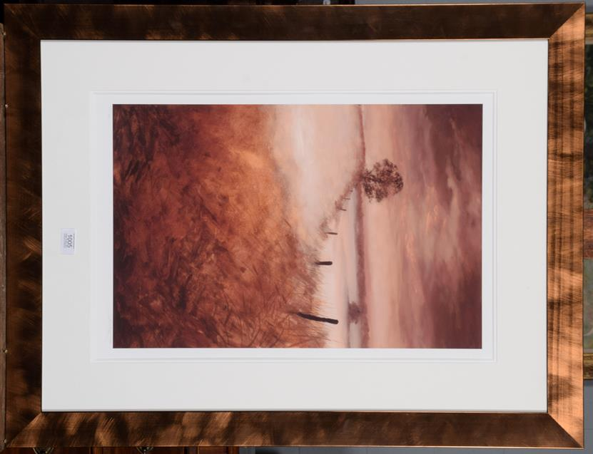 Lot 1005 - Rob Ford (Contemporary) Edge of the field Signed Giclee print, numbered 145/295, 60cm by 40cm