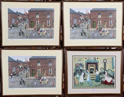 Lot 1015 - A Tom Dodson artist signed proof print, titled ''When I Was Ten'', number 61/500, signed in...