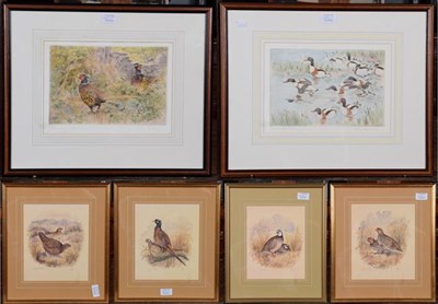 Lot 1038 - A large collection of sporting prints to include works after Archibald Thorburn, Sue Whittaker...