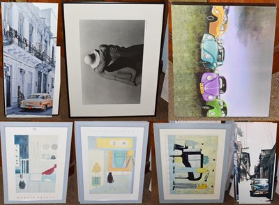 Lot 1045 - Annora Spence (Contemporary), Limited edition print and two posters, together with various...