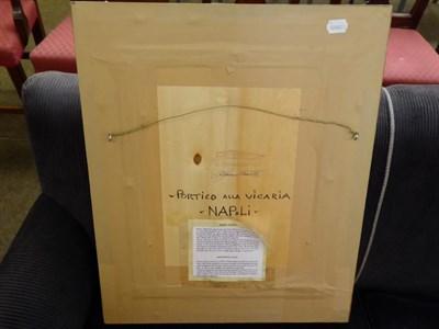 Lot 1047 - F Vasetti (20th century) ''Vita marineresca sealife'' Signed and inscribed verso, oil on board,...
