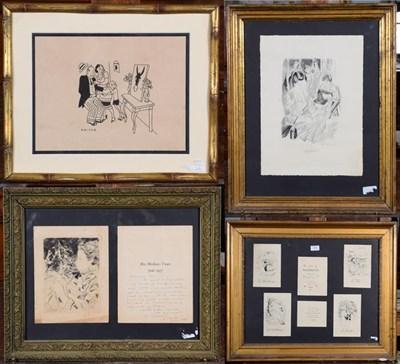 Lot 1067 - After Emilio Grau Sala (1911-1975) Spanish ''Les Saisons'' Set of prints depicting the four seasons