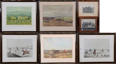Lot 1092 - Of Hunting Interest, a collection of various prints and photographs, including after A.J....