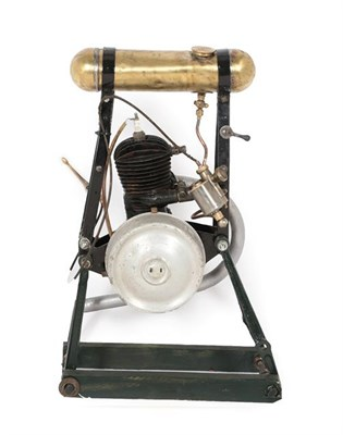 Lot 24 - Villiers stationary engine mounted on a stand (small bore engine)