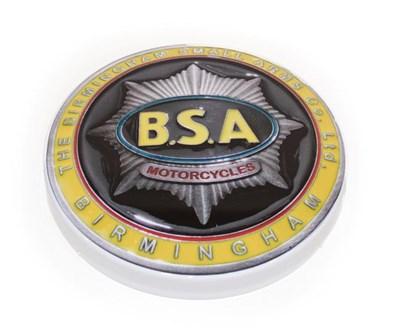 Lot 65 - An Illuminated Car Display Sign: BSA Motorcycles, The Birmingham Small Arms Co Ltd, Birmingham,...