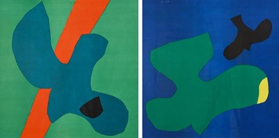 Lot 2006 - Philip Sutton, RA (b.1928) ''Vancouver'' (1966) ''Hawaii'' (1966) Each signed and numbered...