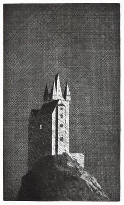 Lot 2022 - David Hockney OM, CH, RA (b.1937)  ''The Haunted Castle'' - (The Boy Who Left Home to Learn...