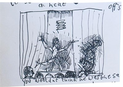 Lot 2024 - After Lucian Freud, OM CH (1922-2011) ''Encore'' Lithograph encased in the original card and...