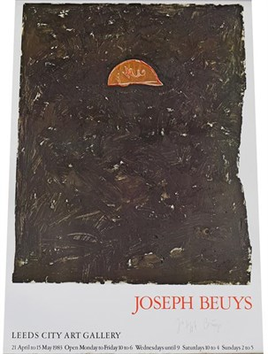 Lot 2026 - After Joseph Beuys (1921-1986) German Leeds City Art Gallery, 21 April - 15 May 1983  Signed,...