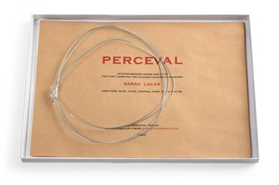 Lot 2029 - Sarah Lucas (b.1962) ''The Percival Mobile'' Offset lithograph in colours on thick card, a...
