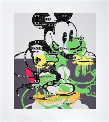 Lot 2034 - Ben Allen (b.1979) ''Deconstructed Mickey'' (2020) Signed, inscribed, stamped and numbered...