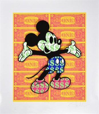 Lot 2035 - Ben Allen (b.1979) ''Monster  Mickey'' (2020) Signed, inscribed, stamped and numbered 15/50, UV...