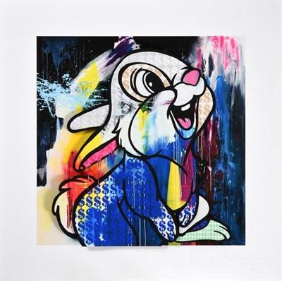 Lot 2036 - Ben Allen (b.1979) ''Money Rabbit''  (2020) Signed, inscribed, stamped and numbered 21/50, UV print