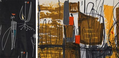Lot 2043 - Lucienne Day OBE, RDI, FCSD (1917-2010) ''Herb Antony'' (1956) for Heals Screen printed cotton,...