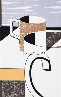 Lot 2044 - Kenneth Rowntree (1915-1997) ''Full Measure'' (1957) for Edinburgh Weavers Screen printed...