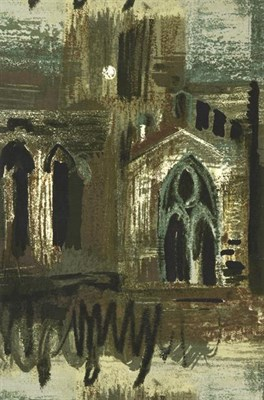 Lot 2047 - John Egerton Christmas Piper CH (1903-1992) ''Northern Cathedral'' (1960) for Arthur Sanderson...