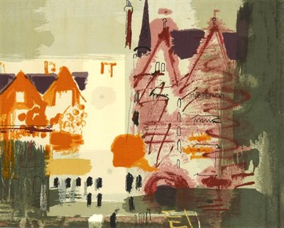 Lot 2048 - John Egerton Christmas Piper CH (1903-1992) ''Northern Cathedral'' (1960) for Arthur Sanderson...