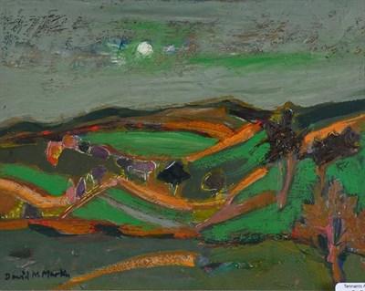 Lot 2064 - David McLeod Martin RSW, RGI, SSA (1922-2018) Scottish ''Borders Landscape'' Signed, oil on...
