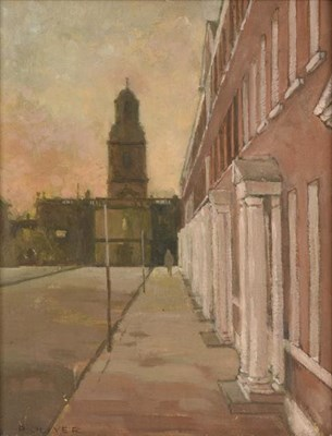 Lot 2078 - Raymond Oliver (b.1933) ''St Johns, North Wakefield'' Signed, oil on board, 22cm by 17cm...