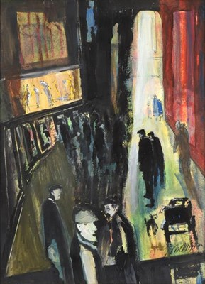 Lot 2087 - John Thompson (1924-2011) ''Group Series 2932'' Signed, mixed media on board, 74cm by 54cm...