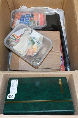 Lot 2002 - Worldwide collection in 10 stockbooks, with Great Britain highly catalogued QV-KE7 ranges,...